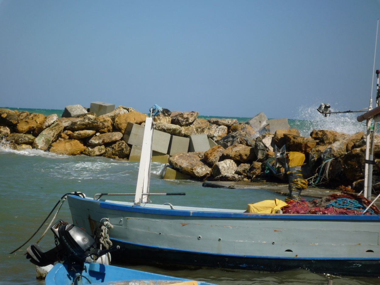 The harbour in Casalabate - Discover Puglia