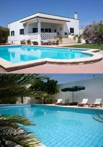 Choose one of our two Puglia Holiday Villas