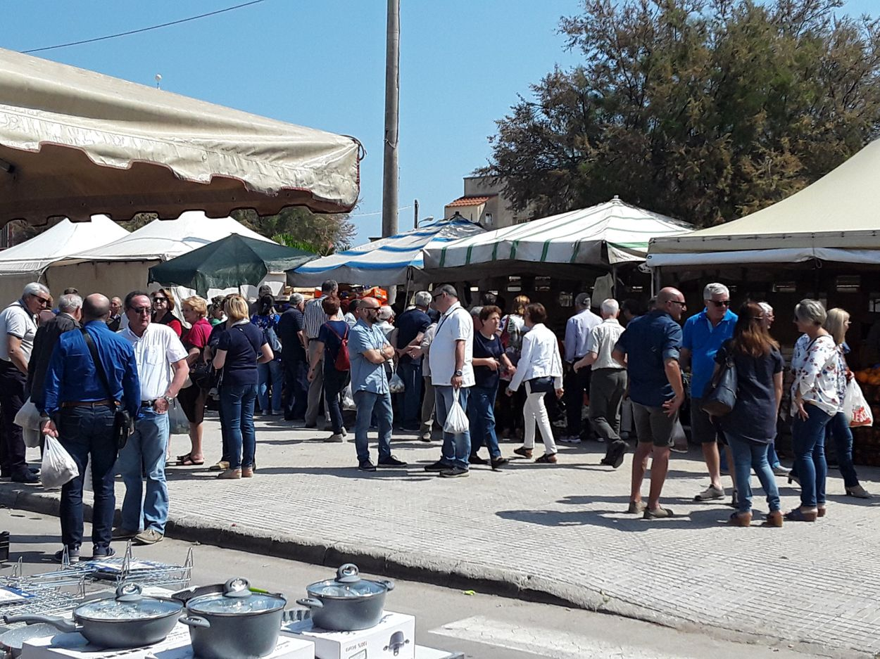 It's not just about shopping, it's a social occasion as well - Discover Puglia