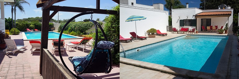 Rent one of two Puglia Holiday Villas in Salento, on the Adriatic Coast